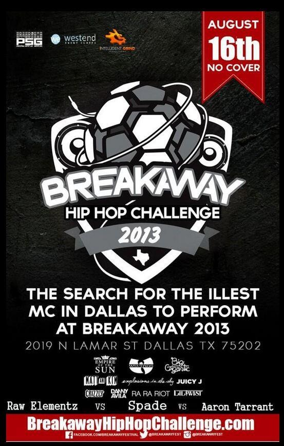 Breakaway Hip Hop Challenge This Friday!