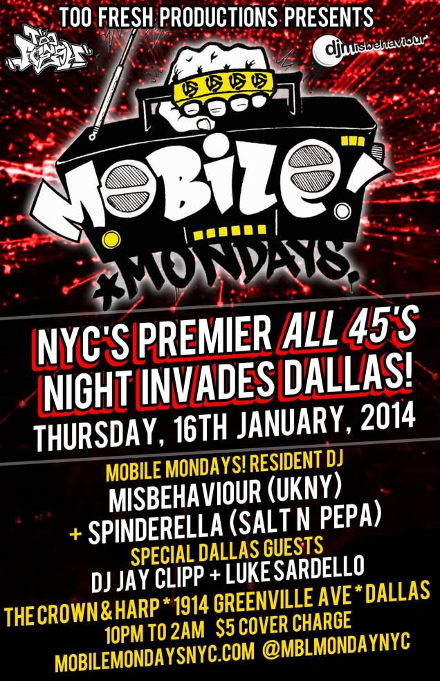 Mobile Mondays Brought to you by Too Fresh Productions