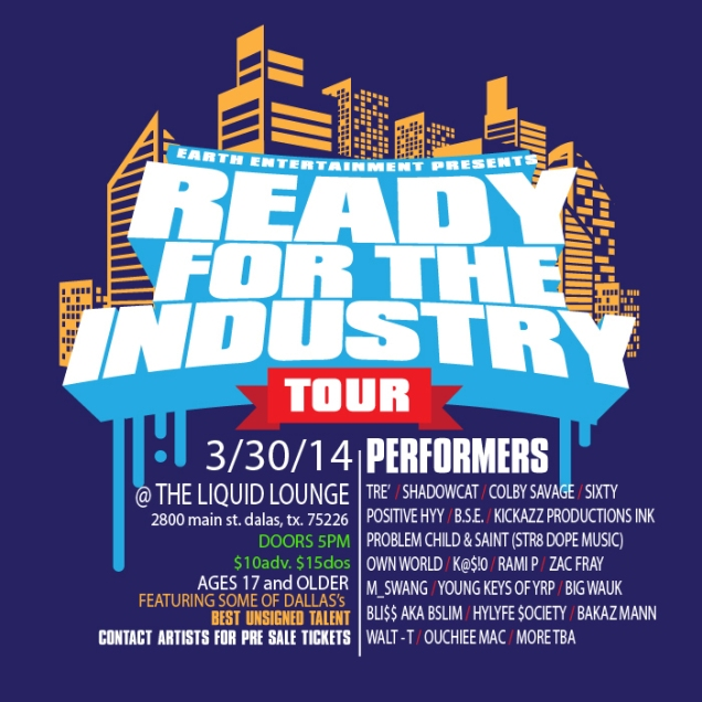 Kickazz Productions Showing Dallas They are ready for the industry gearing for New Show