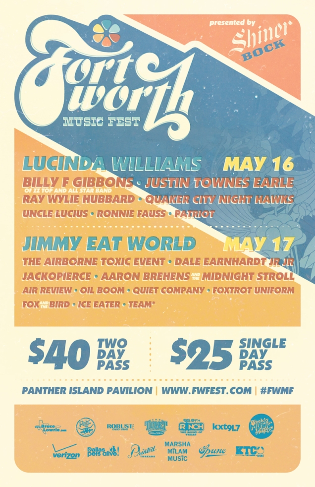 Ft. Worth Music Festival this weekend